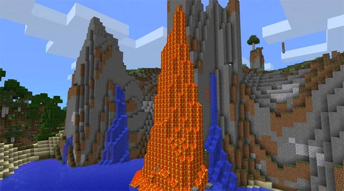 Lava Mountain & Mineshaft