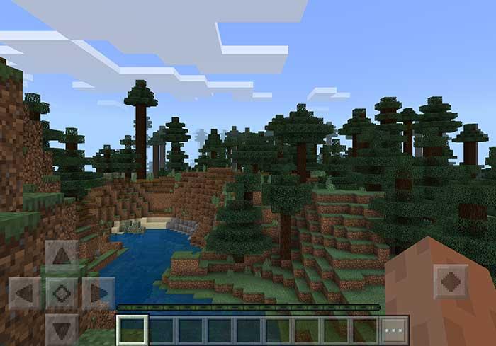 minecraft mega forest resource