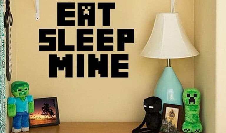 Get Inside The Game With Minecraft Bed, Furniture & Decor For Your Room