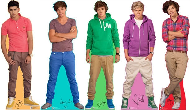 One Direction Life Size Cardboard Cutouts
