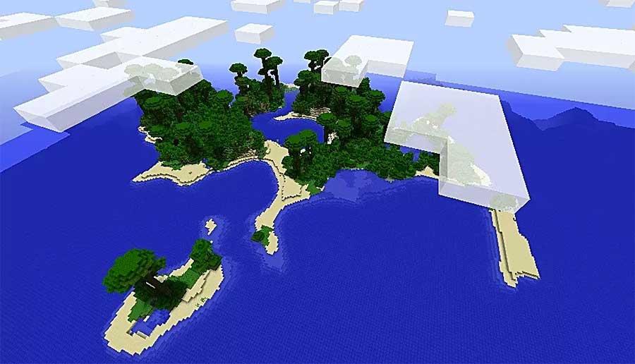 jungle island survival