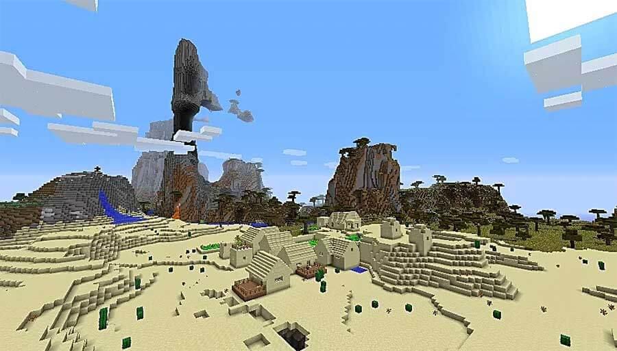 sand village seed