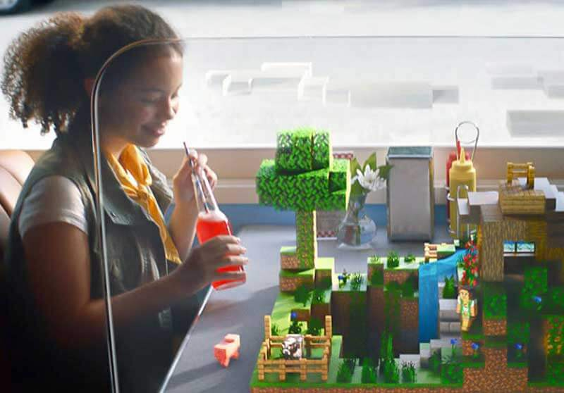 minecraft earth lego