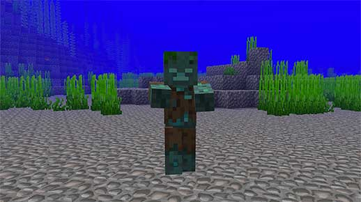 minecraft drowned