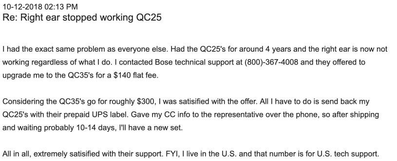 bose qc35 upgrade offer
