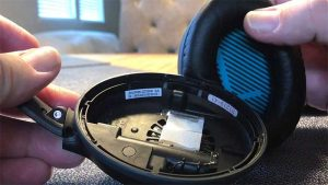 bose qc25 headhones right ear not working