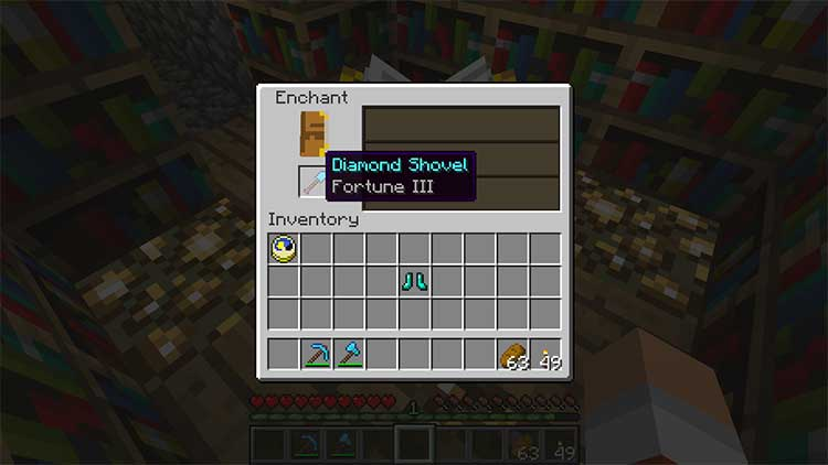 minecraft fortune enchantment