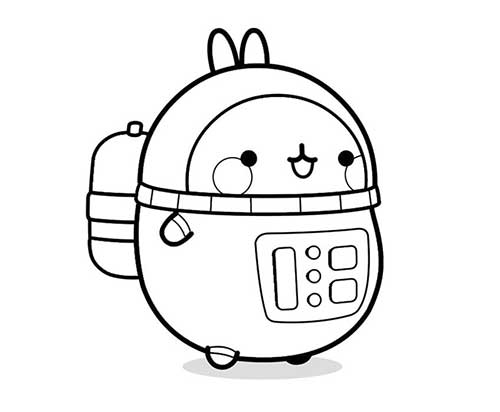 molang astronaut