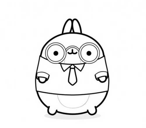 molang nerdy friends