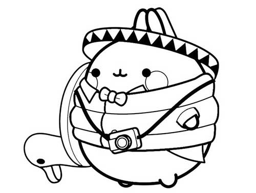 29 Molang And Piu Piu Coloring Pages | Geeky Matters