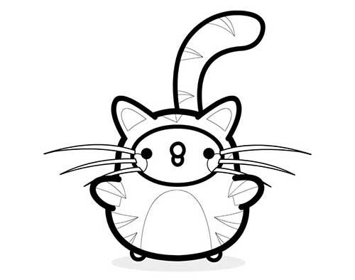 Piu Piu in cat costume