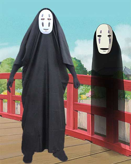 spirited away no face cosplay