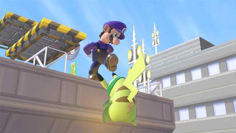 Luigi Down Taunt