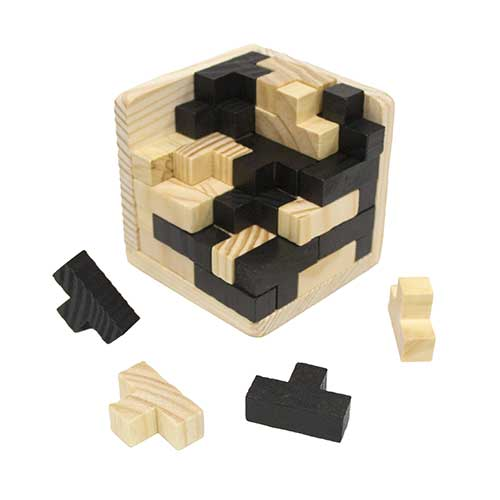 wood brain teaser puzzle