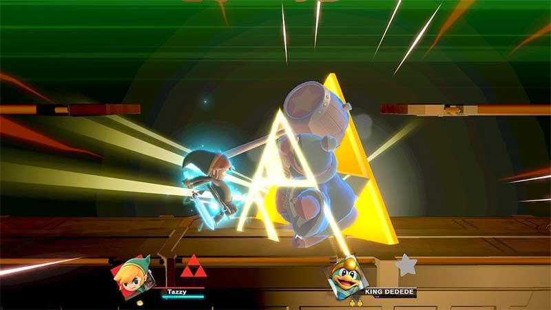 Toon Link Triforce Slash
