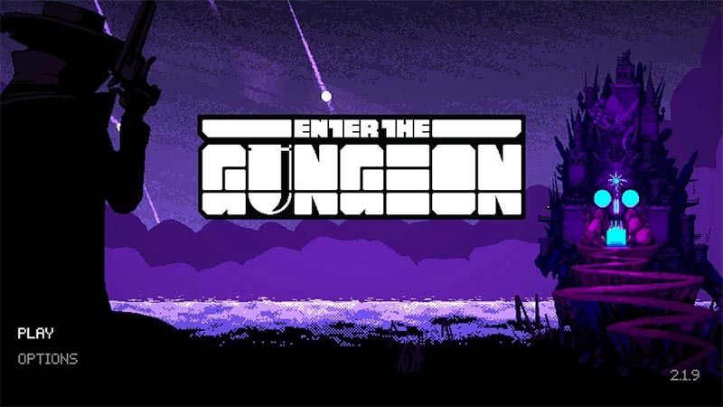 enter the gungeon game