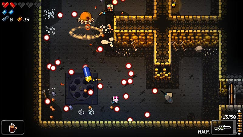 enter the gungeon game play