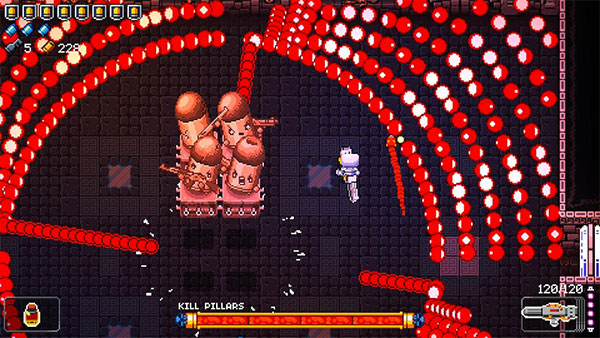 kill pillars enter the gungeon boss