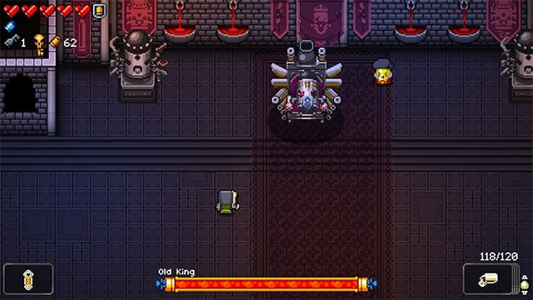 old king gungeon boss
