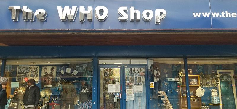who shop london