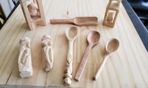 wood whittling examples