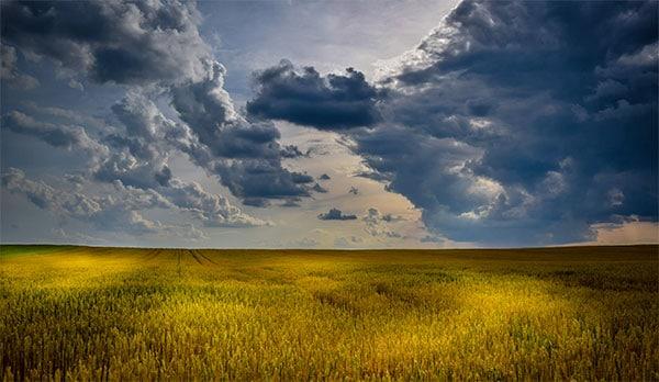 plains before a storm