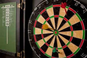dartboard and score