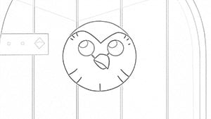 Hooty coloring page The Owl House